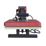 Machine à plat manuelle de presse de la chaleur de T-shirt de la presse 38*38cm de la chaleur