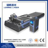 Coupeur Lm3015A3 de laser de fibre de plaque en acier avec le système alimentant automatique