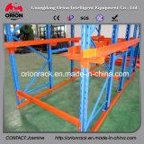 Mecanismo impulsor industrial del almacén de la estructura de acero en estante