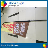 Precio bajo Custom Printed Feather Banderas Sail Flagpoles
