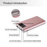 Banca di potere del caricatore del USB della visualizzazione di LED la mini per il telefono mobile