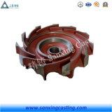 Turbine de pompe de moulage de précision d'acier inoxydable (bâti perdu de cire)