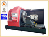 Qualitäts-ökonomische Enden-Gesicht CNC-Drehbank für Flansch, die Rad-maschinelle Bearbeitung tragend (CK64160)