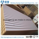 15mm Grooves Slotted MDF Board para Escritório / Hotel / Home Furniture