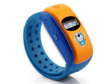 Intelligente Uhr mit des Vorwahlknopf-/SMS/dem Gleichlauf Musik-des Spieler-/GPS/Sos/GPRS für Handy