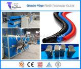 Einlagiger gewölbter Plastikschlauch, der Maschine/flexiblen gewölbten Gefäß-Extruder herstellt