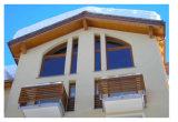 집의, 원형 또는 둥근 또는 어떤 주문을 받아서 만들어진 모양 목제 특기 유리창을%s 현대 디자인 Windows