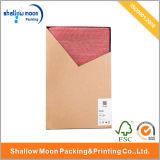 Rectángulo de empaquetado de Kraft del arte de gama alta del rectángulo de papel (AZ121912)