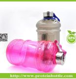 Novo patenteado 600ml Pill Organizer Protein Shaker Bottle with Pill Container