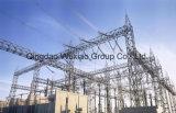 Estructura de acero de la subestación del transformador (10-1000kv)