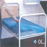 Nicht gesponnenes PP/SMS wegwerfbares wasserdichtes Bett-Blatt