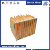 Filtro de fibra de vidrio medio Bolsa de Aire