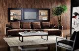 Sofá secional da tela elegante moderna da sala de visitas do projeto ajustado (HC8121)
