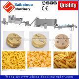Cadena de producción de los macarrones de las pastas que hace la máquina