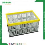 Caixa de dobramento exalada plástico para o supermercado