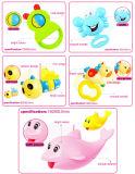 Crepitio di plastica 10214174 del bambino dell'anello della base di Musical dei giocattoli 2015 del bambino di B/O