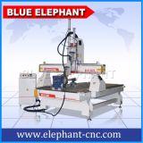 Маршрутизатор CNC вырезывания Ele-1325-2spindles 3D деревянный, автомат для резки CNC