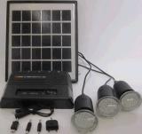 3PC 1W het Systeem van de Zonne LEIDENE Uitrustingen van de Verlichting van de Fabriek van ISO