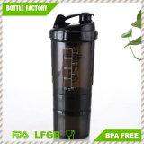 Таможня BPA освобождает пластичную бутылку трасучки протеина с весной спайдера