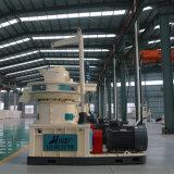 Máquina de aserrín de madera de biomasa de pellets