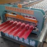 فولاذ قرميد معدن سقف لف يشكّل آلة (780)