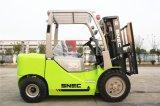 2017 Forklift automático novo do diesel do motor 3t de Japão