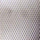 Gravé à l'eau-forte, de relief, hl, feuille Checkered d'acier inoxydable de finition de miroir