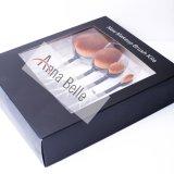PROzahnbürste-Form-Verfassungs-Sahne-Basis-Puder-Lippenaugenschminke-Pinsel-Set der Schönheits-5PCS mit Geschenk-Kasten