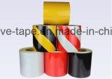1-5cm gelb und schwarze Gefahr, die reflektierende Bänder warnt