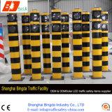Colonna di ormeggio d'avvertimento esterna dell'alberino di sicurezza stradale del rifornimento delle coperture solari del ferro