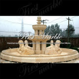 Fontana di pietra di marmo Mf-1031 dell'oro del deserto della fontana del granito