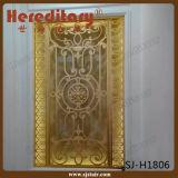 Schermo del metallo di fabbricazione della Cina per l'oggetto d'antiquariato rosso della decorazione dell'interno (SJ-X2623)