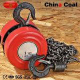 Élévateur diesel de grue à chaînes électrique d'engine de 1 tonne