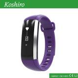 Bracelet de montre portable intelligent de Bluetooth