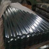 Pleine plaque en acier galvanisée ridée de toiture par feuille dure