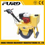 Sola caminata del rodillo detrás del compresor manual del suelo del vibrador (FYL-600)