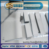 Tungsten puro Sheet, Tungsten Plate para Furnace Construction