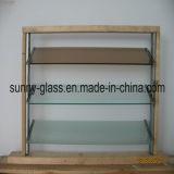 auvent de 6mm/glace en verre clairs/en bronze d'auvent pour le guichet