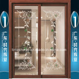 Foshan mide el tiempo de las puertas deslizantes rotas de aluminio del puente de Huiye