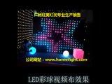 Heißer videovorhang des Weihnachten-2017 RGB-Anblick-Tuch-LED für Stadiums-Beleuchtung DJ, Stab, Ereignis-Erscheinen-Disco