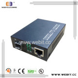 One RJ45 Port、One SFPの10/100/1000 Mbps Ethernet Media Converter