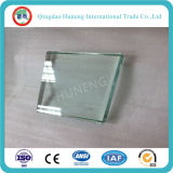 1.8mm-19mm Vidrio de cristal de la construcción de China Constuction claro