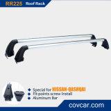 AluminiumCar Roof Luggage Bar für Nissans Qashqai (RR225)