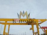 Кран контейнера крана на козлах контейнера Rmg установленный рельсом