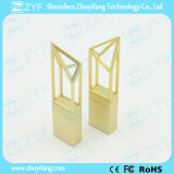 2017 de Nieuwe Aandrijving van de Flits USB van de Bouw van het Ontwerp Gouden Innovatieve (ZYF1747)