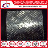 3003 5bars 4X8 다이아몬드 Checkered 장 알루미늄 미끄럼 방지 격판덮개