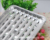 Aluminum Foil Tray with Foil 음식 패킹을%s 뚜껑