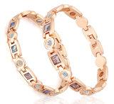 Coperture dell'aliotide + braccialetto di titanio di energia di sanità di Zircon