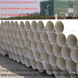 Tubo químico de PVC CPVC resistente a corrosão de plástico Tubo de água UPVC