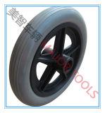 8X1.25 Qualità-Garantiscono la rotella della sedia a rotelle della gomma piuma dell'unità di elaborazione